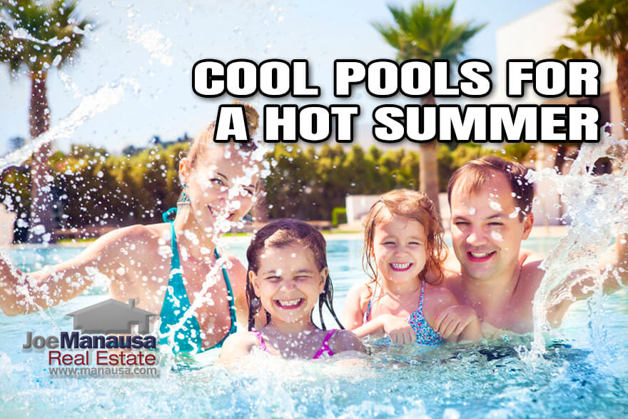 It's summer, the temperatures are in the 90s, don't you think it's time to own a home with a pool?