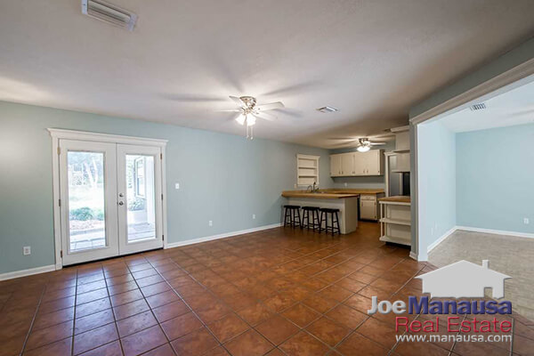 Great deal on a home for sale with an in-law suite in Tallahassee, FL