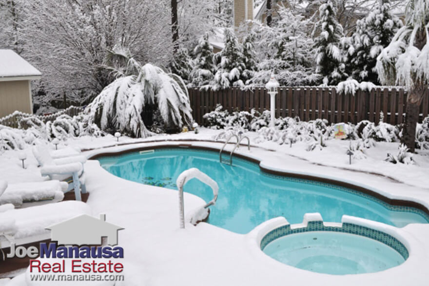 Why You Should Buy A Home With A Pool During The Winter