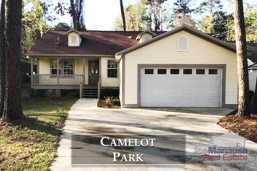 Camelot Park is a highly desirable NE Tallahassee neighborhood that offers three and four bedroom homes on quarter acre (plus) sized lots.