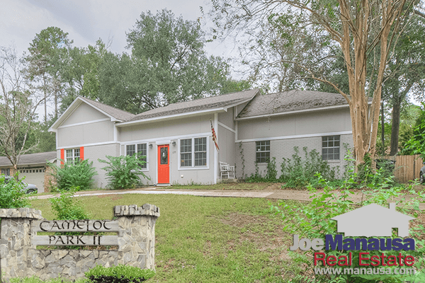Camelot Park is a downtown Tallahassee neighborhood with many interesting homes for sale