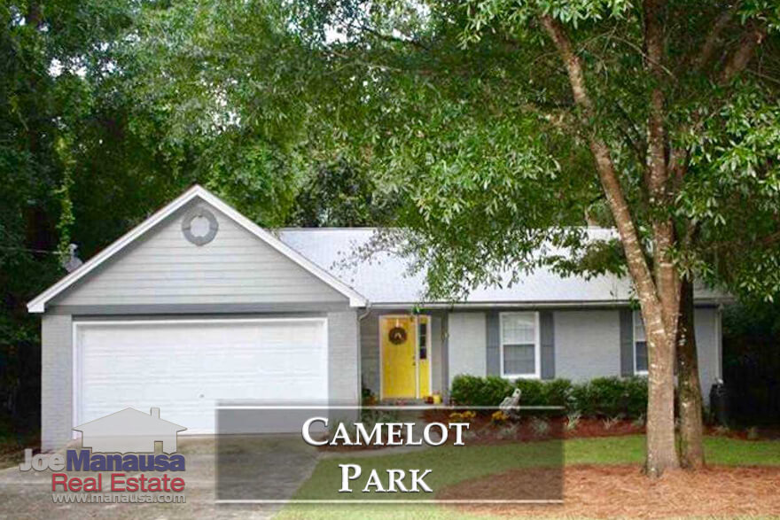 Considering that you can simply walk to dining, parks and entertainment, you might just fall in love with the Camelot Park neighborhood