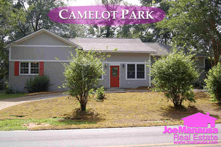 Homes For Sale In Camelot Park in Tallahassee, FL