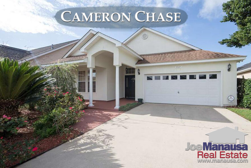 Homes for sale in Cameron Chase in Tallahassee, Florida
