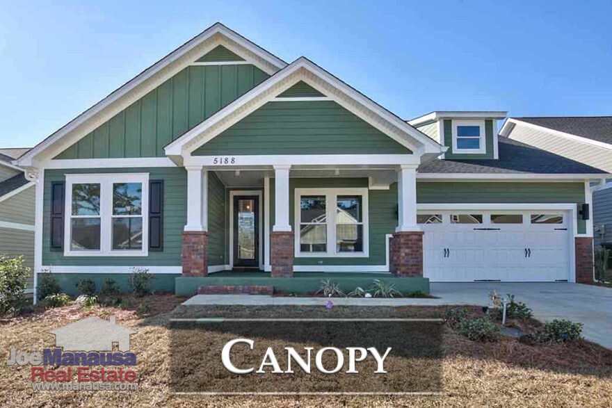 Canopy is a brand new master planned community in Northeast Tallahassee, offering 3 and 4 bedroom new construction homes priced below $400K.