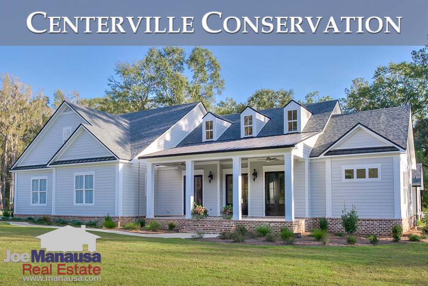 Centerville Conservation is a NE Tallahassee luxury homes community that offers well-appointed homes on small acreage tracts
