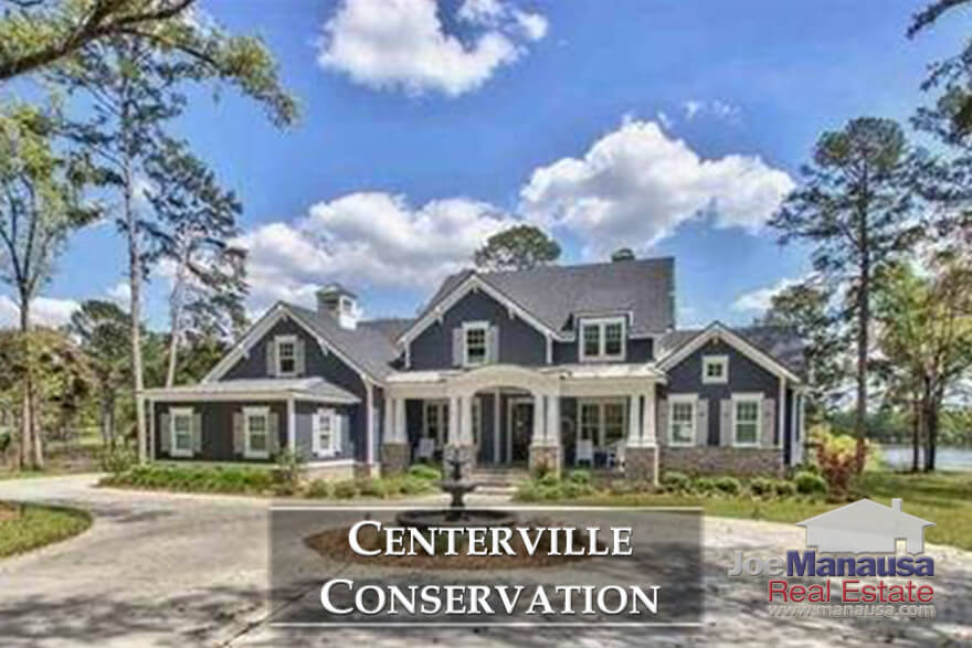 Centerville Conservation is a high-end homes neighborhood located in the northeast quadrants of the Tallahassee real estate market.