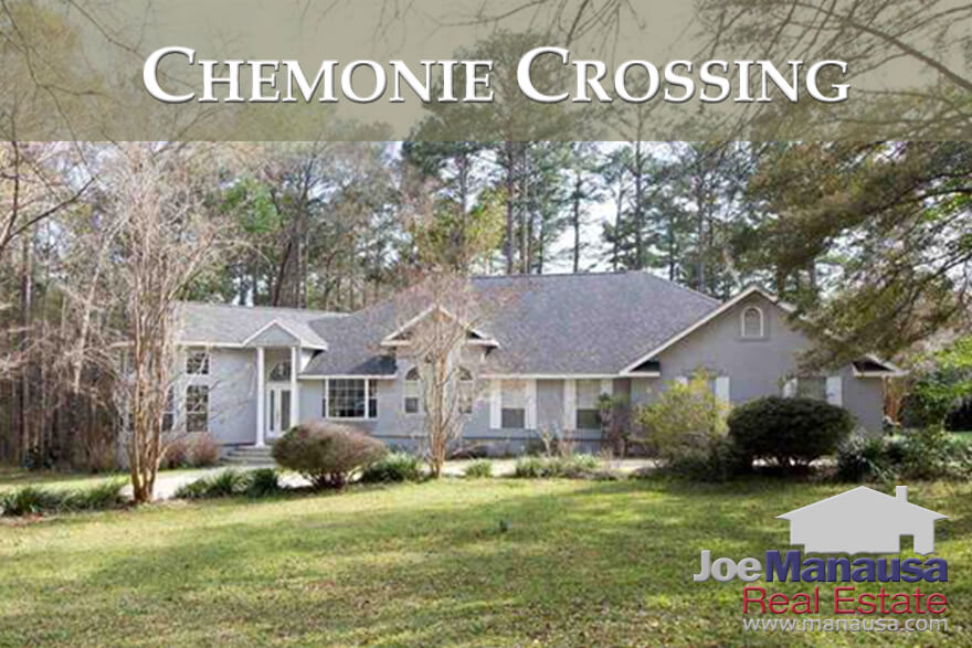 If you want more than just a small lot under your home, take a look at the homes for sale in Chemonie Crossing