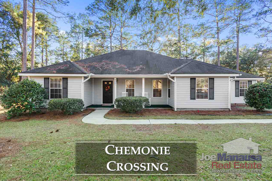 Chemonie Crossing is a Northeast Tallahassee neighborhood, located out Centerville Road just past Proctor Road.