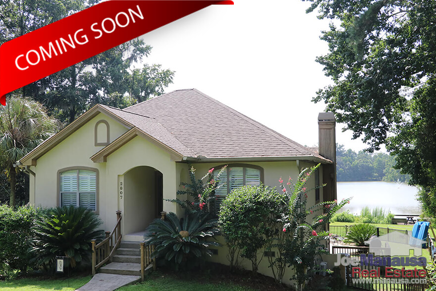 Coming Soon - New Listing of Lakefront home in Killearn Estates