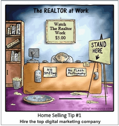 Realtor at work in Tallahassee
