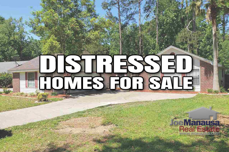 It doesn't seem that long ago that distressed properties dominated the listings in the Tallahassee MLS, but times do change
