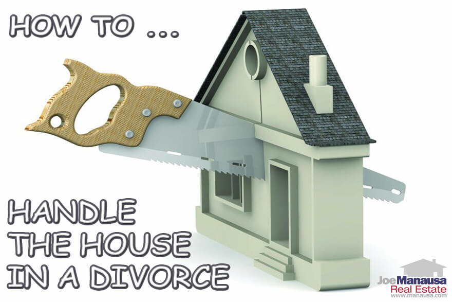 If there is one thing that I see divorcing couples doing wrong more often than not, it is the decision on how to handle the house where the couple has lived