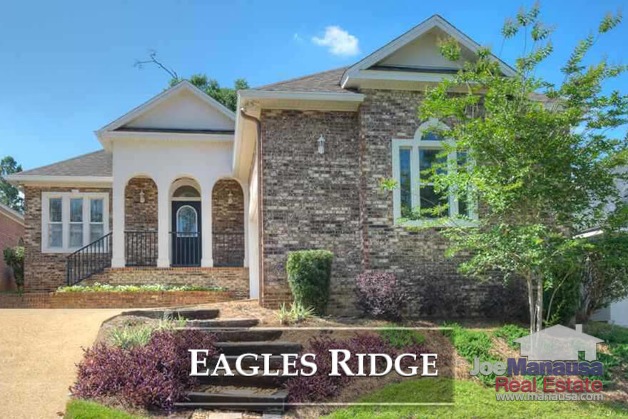 Eagles Ridge is located within the gates of Golden Eagle Plantation, offering patio homes on or around Tallahassee's Tom Fazio golf course.