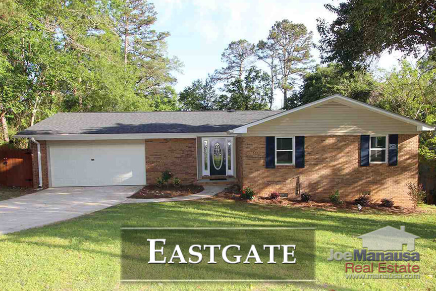 Eastgate is the rare NE Tallahassee neighborhood that offers a location inside of I-10 and yet you can still buy a home there for under $200K