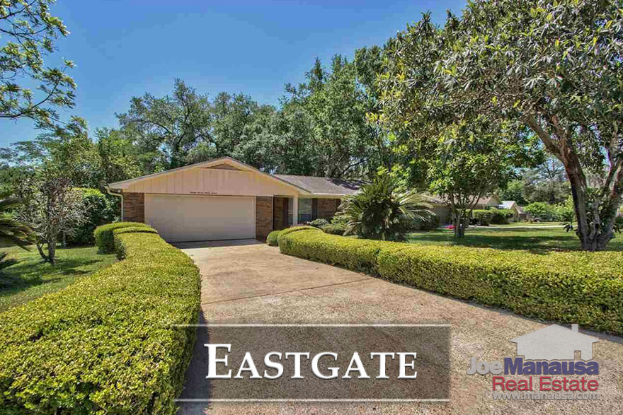 Eastgate is a fiery-hot-popular neighborhood in Northeast Tallahassee that combines location with low prices to be one of the best buys still available in our market