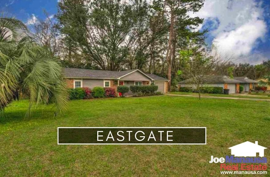 Eastgate is a popular NE Tallahassee neighborhood located on the east side of Capital Circle NE, just south of I-10.