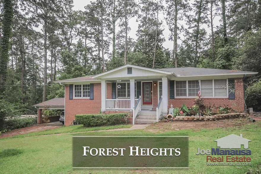 Forest Heights in NW Tallahassee, Florida