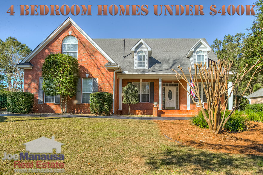 4 Bedroom Homes For Sale In Tallahassee Under $400K