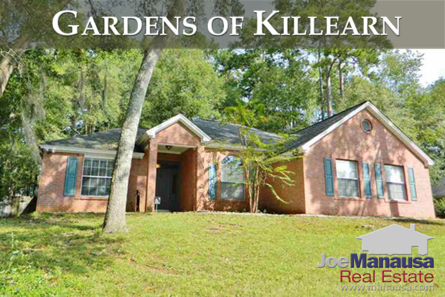 The Gardens of Killearn is a very popular section of the Killearn Estates community in Northeast Tallahassee