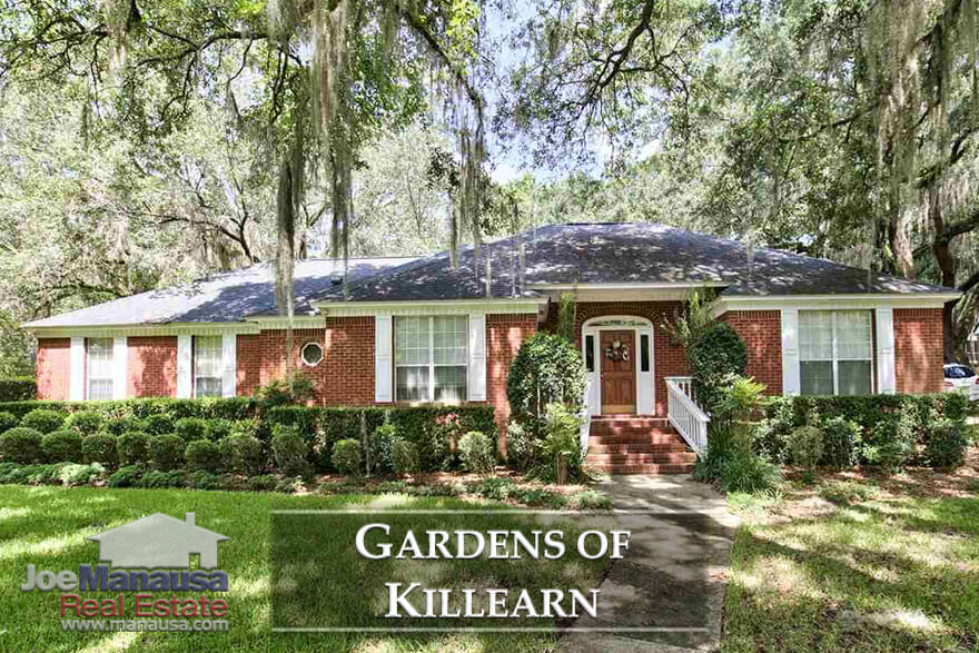 The Gardens of Killearn is located on the southern boundary of Killearn Estates in the sizzling hot NE quadrant of the Tallahassee real estate market.