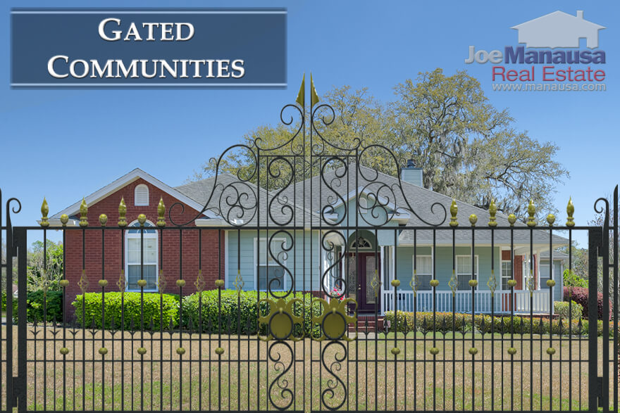 Homes for sale in gated communities in Tallahassee, Florida