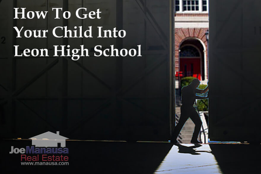 How To Get Your Child Into Leon High School In Tallahassee, Florida