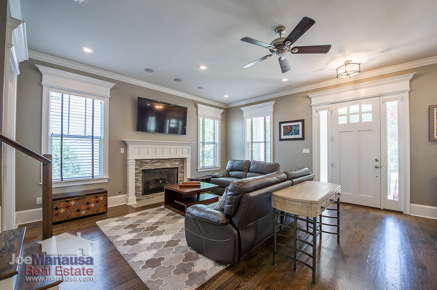 Enjoy almost new hardwood floors in your Midtown Tallahassee home
