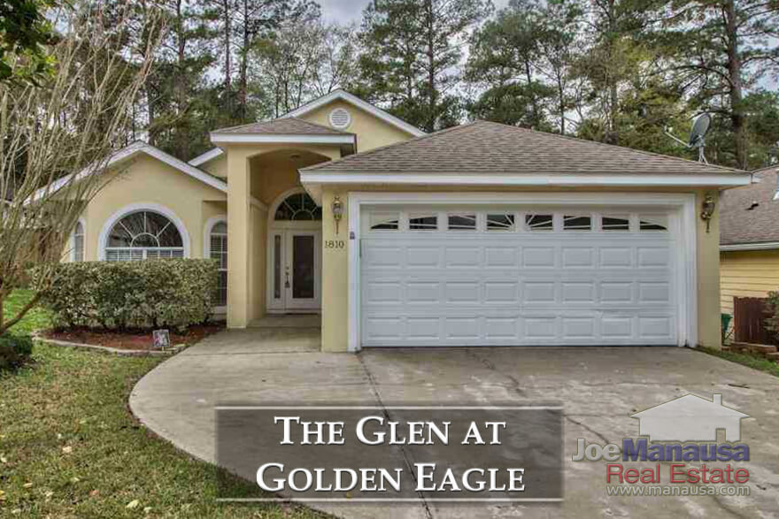 The Glen at Golden Eagle is a very popular NE Tallahassee neighborhood in the 32312 zip code