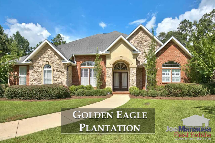 With more than 800 homes surrounding a Tom Fazio masterpiece, Golden Eagle Plantation has become the premiere destination for avid golfers