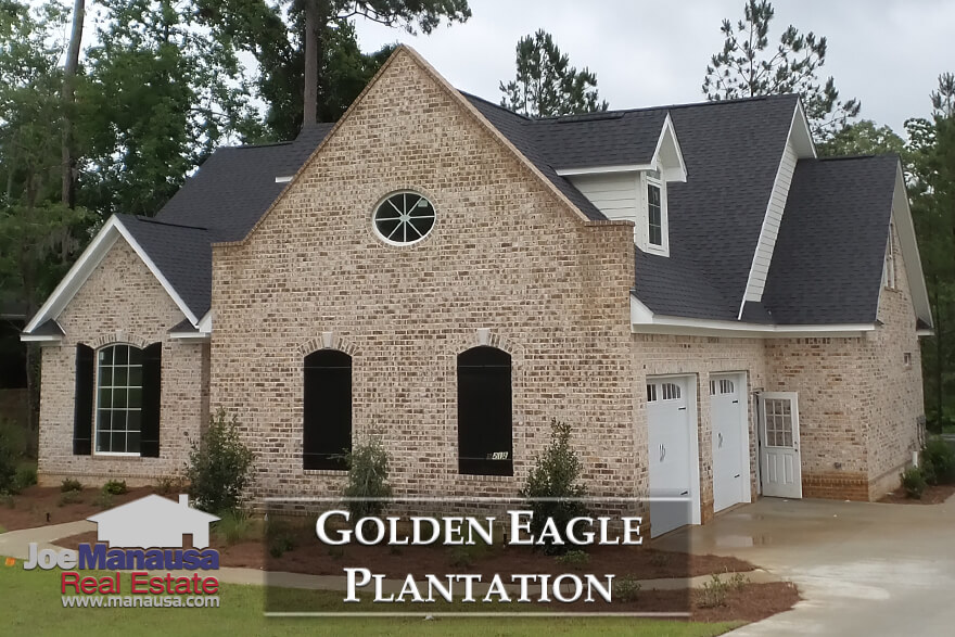 Tallahassee Golden Eagle Plantation Listings & Home Sales Report August 2018
