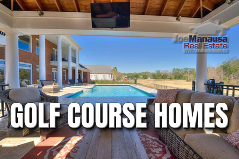 Buy a home on a golf course in Tallahassee