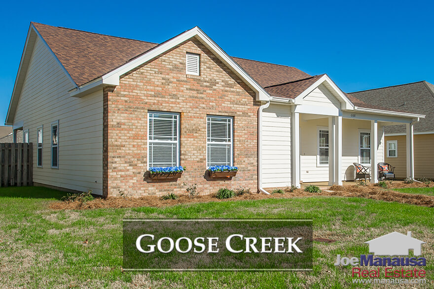 Goose Creek Meadows and Goose Creek Fields are two adjacent NE Tallahassee neighborhoods featuring three and four bedroom homes.