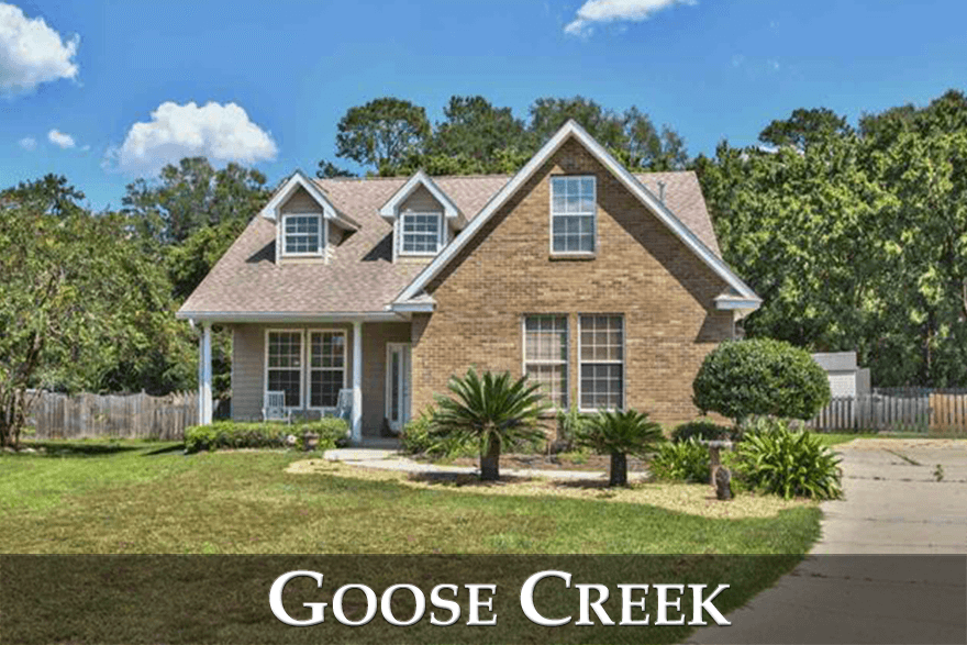 Goose Creek Meadows and Goose Creek Fields are two relatively new neighborhoods on the east side of town.