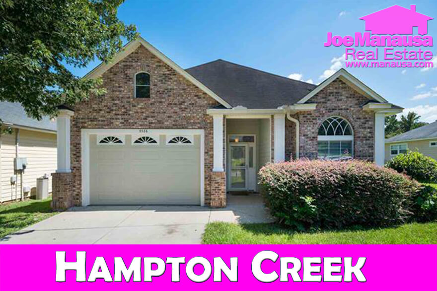 Homes for sale in Hampton Creek in Tallahassee, Florida
