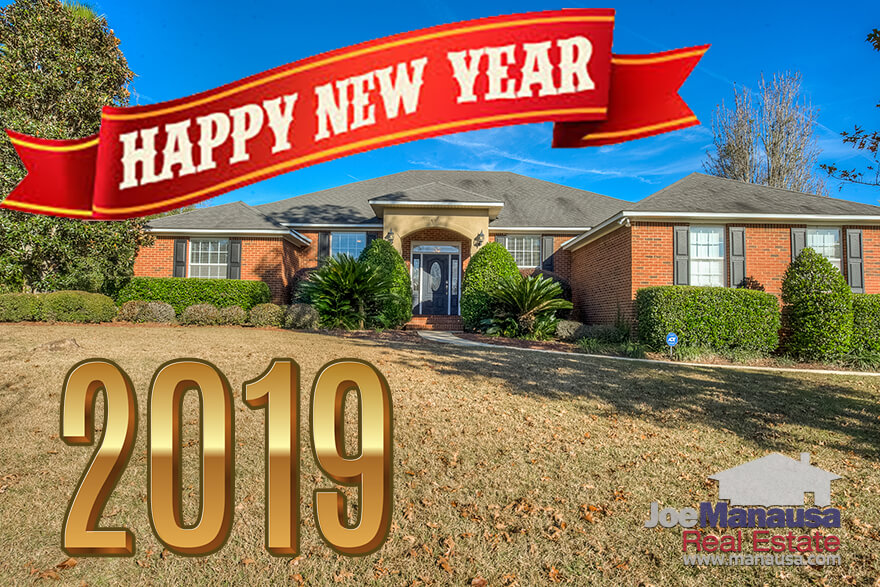 From all of us at Joe Manausa Real Estate, we extend to you a warm Happy New Year's greeting from Tallahassee!