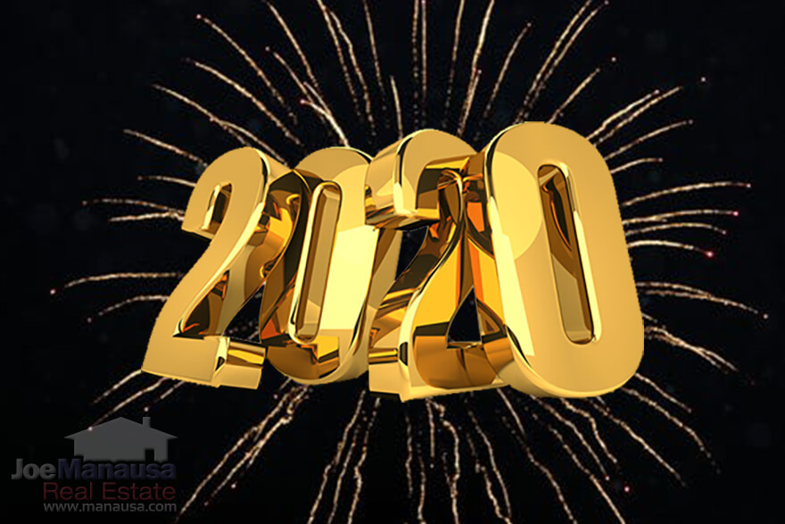 All of us at Joe Manausa Real Estate wish you and your family a healthy and happy new year in 2020!