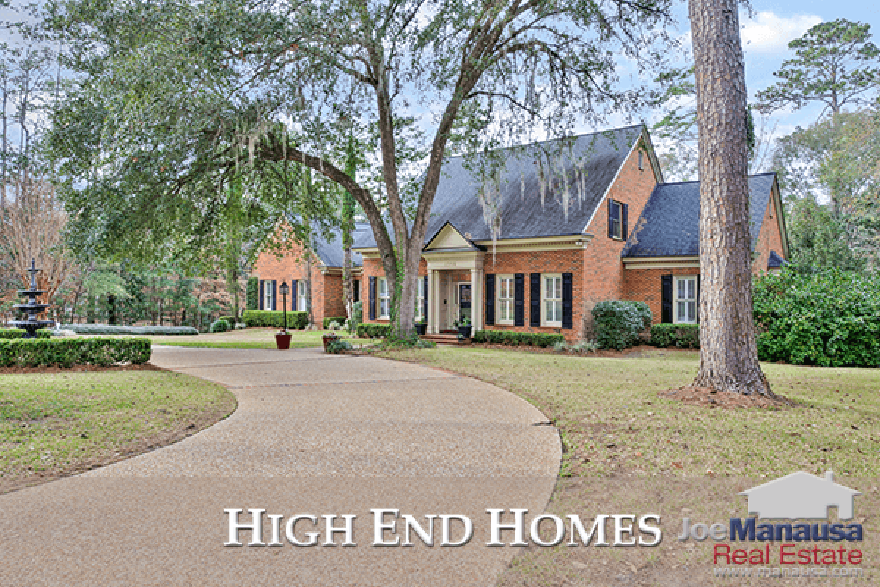 High end home sales in Tallahassee are on the rise and the market for sellers is better than ever