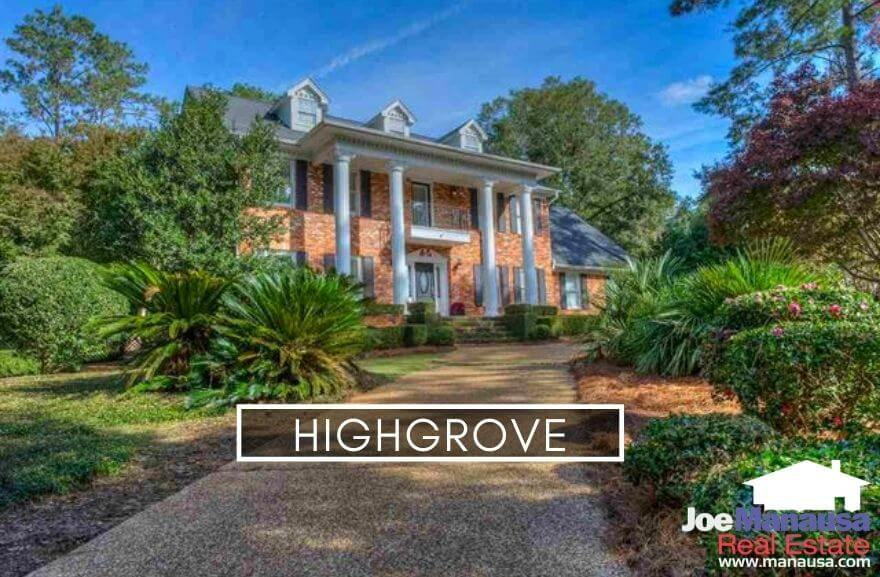 Highgrove is a popular NE Tallahassee neighborhood located on the west side of Thomasville Road a little north of Killearn Estates within the high-demand 32309 zip code.