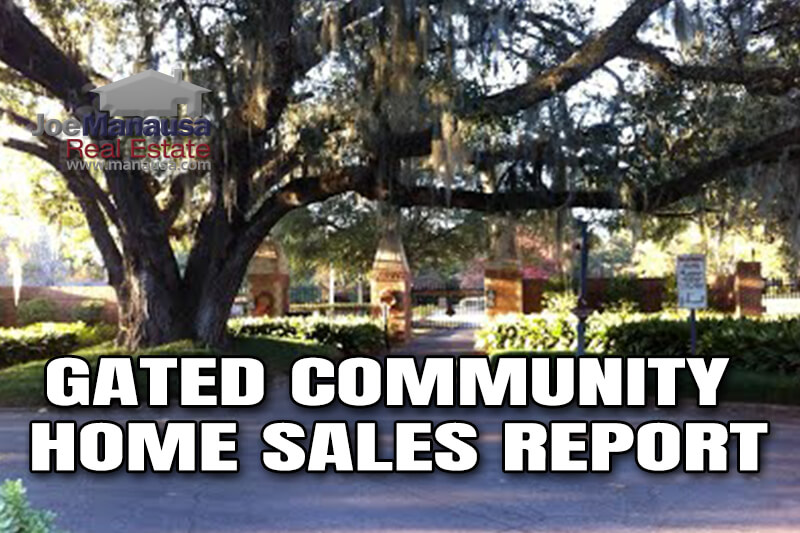 single-family detached homes for sale in gated communities in Tallahassee