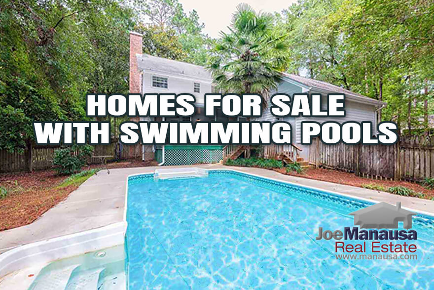 Single-Family Detached Homes For Sale With Swimming Pools