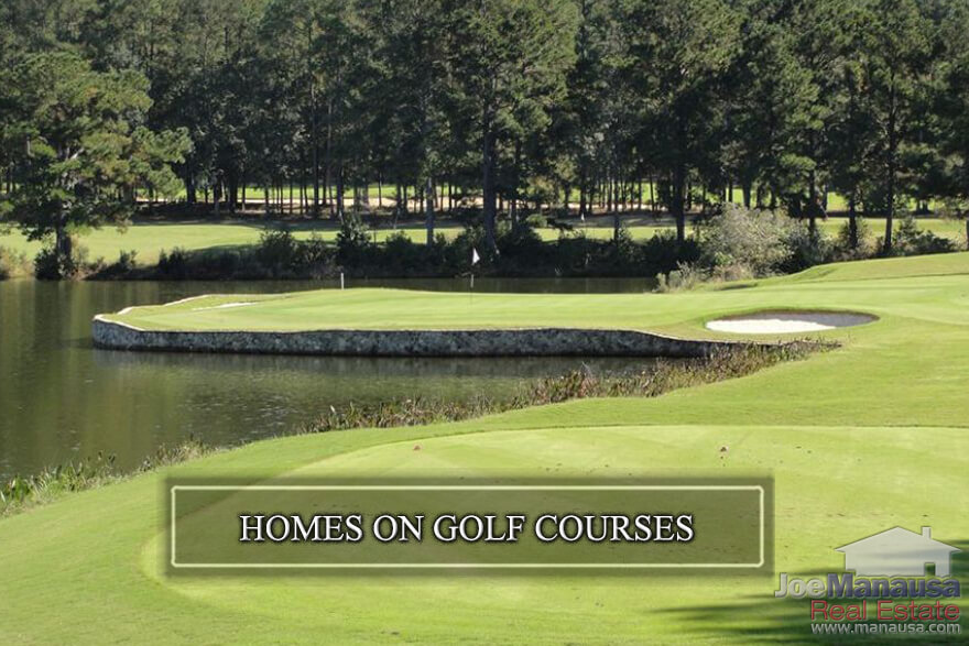 How much does it cost to buy a home on a golf course in Tallahassee? What are golf course homes worth? What do you get with a house that was built on a golf course?
