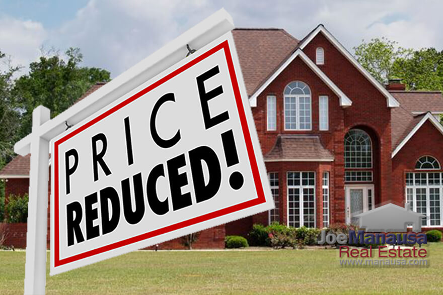 One thing that we do not see very often in this strong sellers' market is home sellers lowering their asking prices