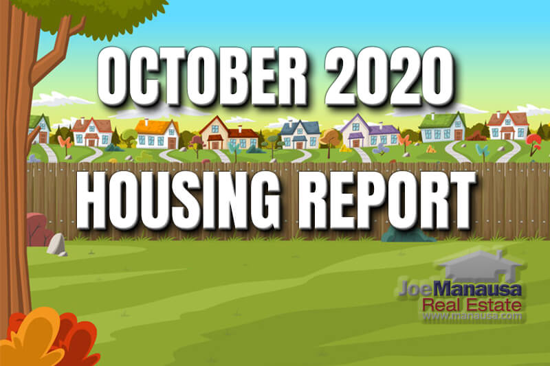 This housing market update is for October 2020