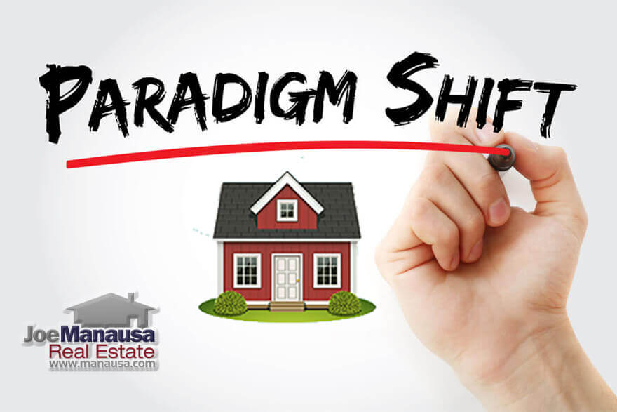 a paradigm shift in the market that has changed how homeowners should go about selling their homes and buying their next ones