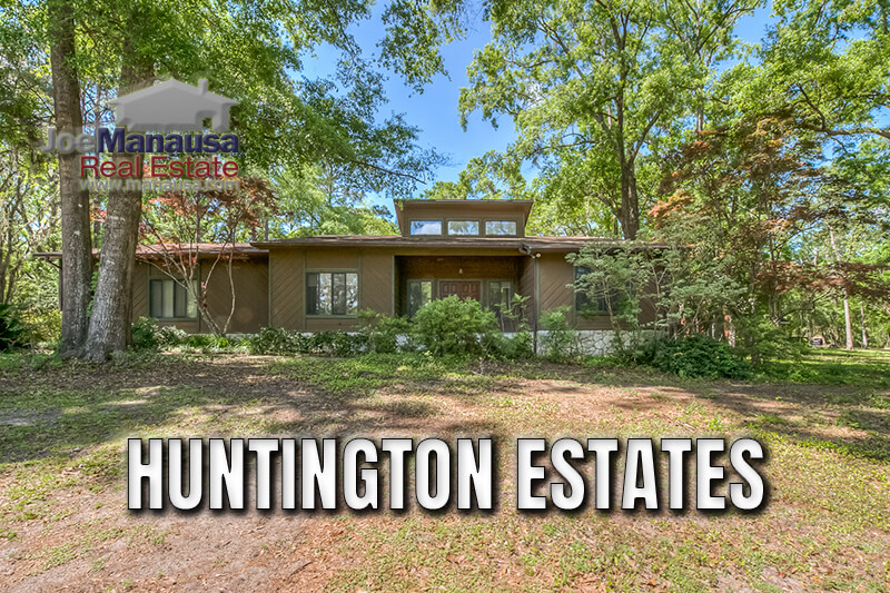 Huntington Estates is an established Northwest Tallahassee neighborhood comprised of fewer than 90 single-family detached homes that range from 2,100 - 2,800 square feet, though there are some smaller and larger.
