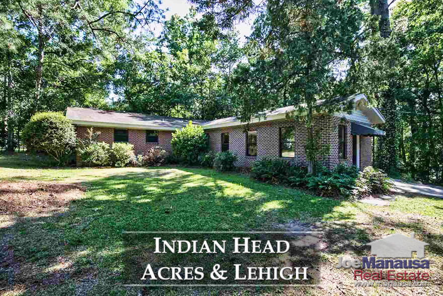 Lehigh & Indian Head Acres is a recently-rediscovered gold mine for homebuyers seeking an in-town location, large homesites, and homes with