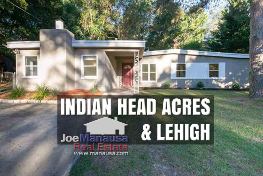 Indian Head Acres & Lehigh in downtown Tallahassee, Florida