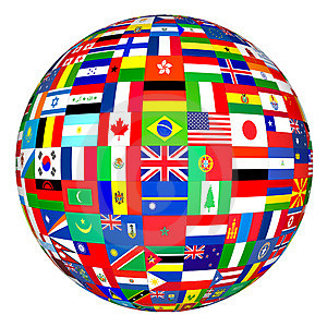 International Globe Flag