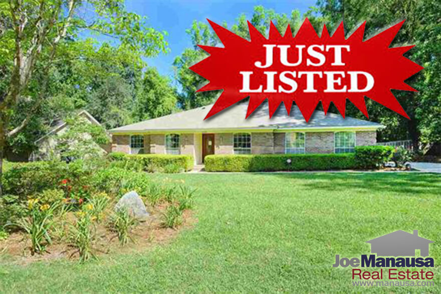 Home just listed for sale in Tallahassee, Florida